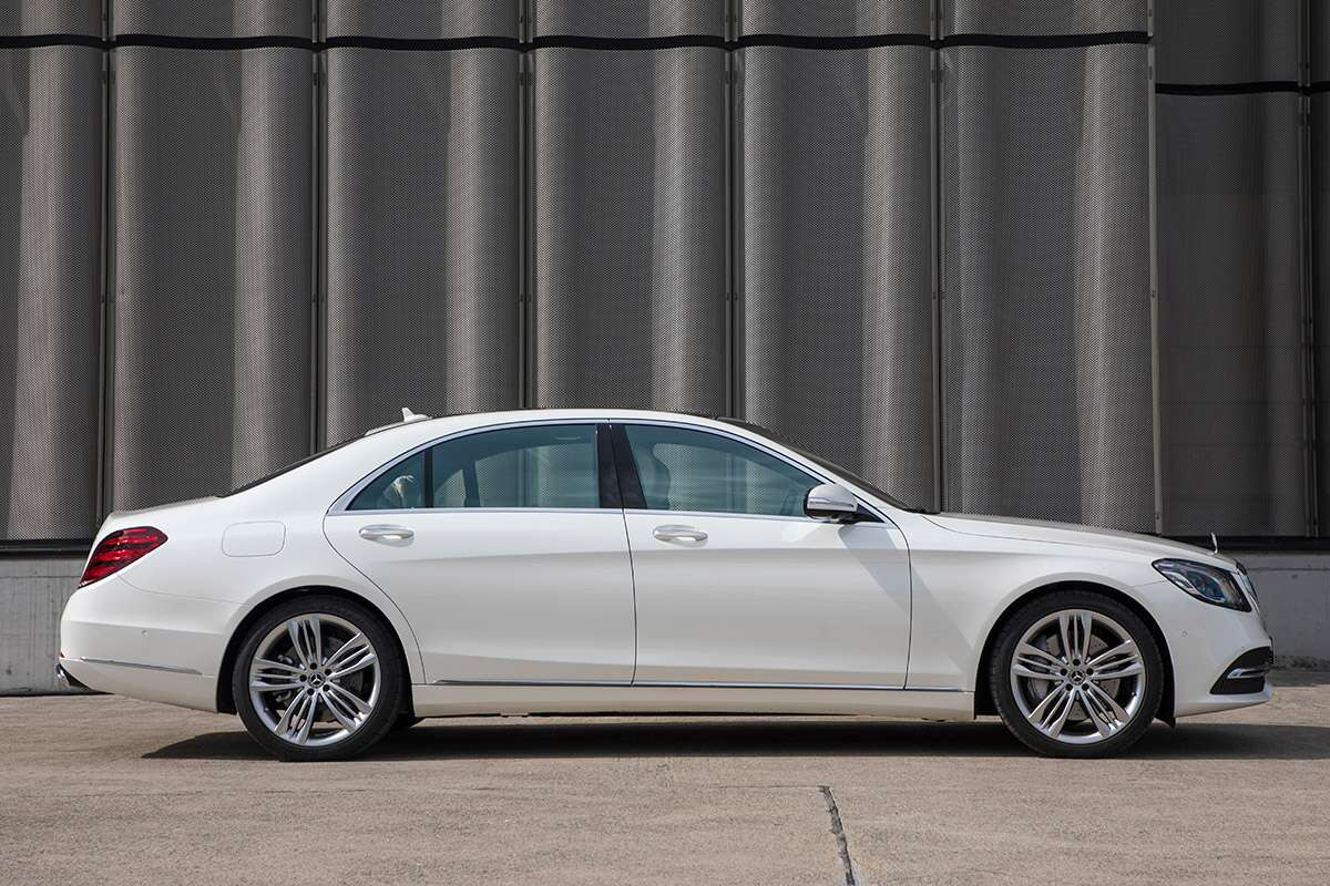 2018 mercedes benz s class first drive the first name in for 2018 mercedes benz s550