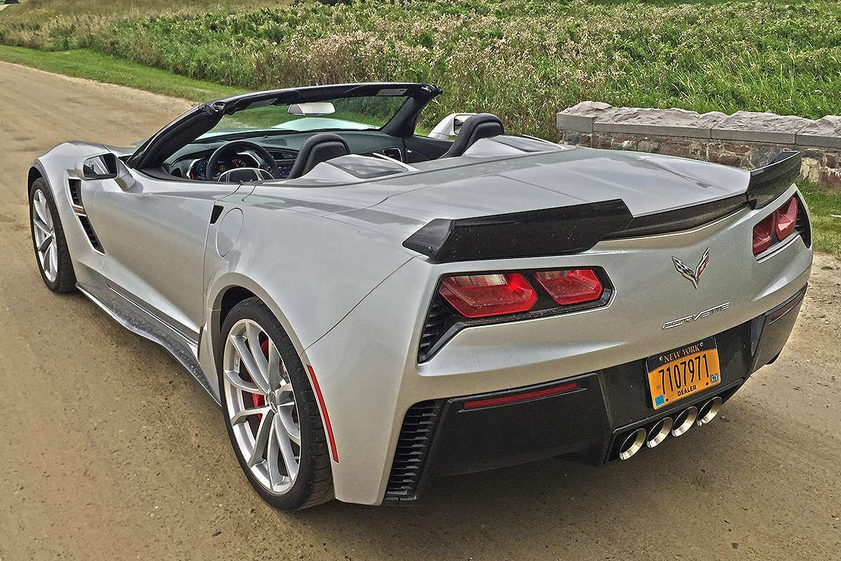2018 Chevrolet Corvette Grand Sport Convertible Review Even A