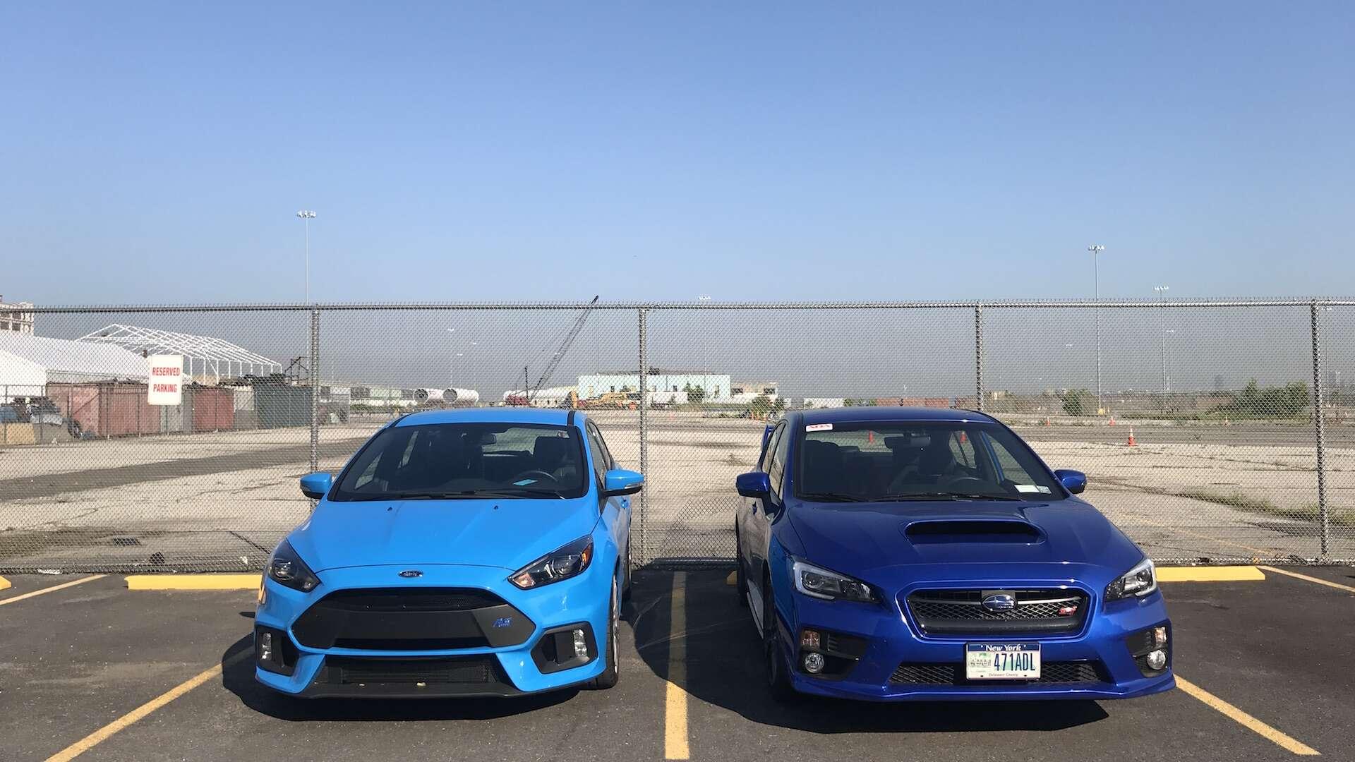 Ford Focus Rs Vs Sti >> Ford Focus RS Vs. Subaru WRX STI: A (Slightly Biased) One ...