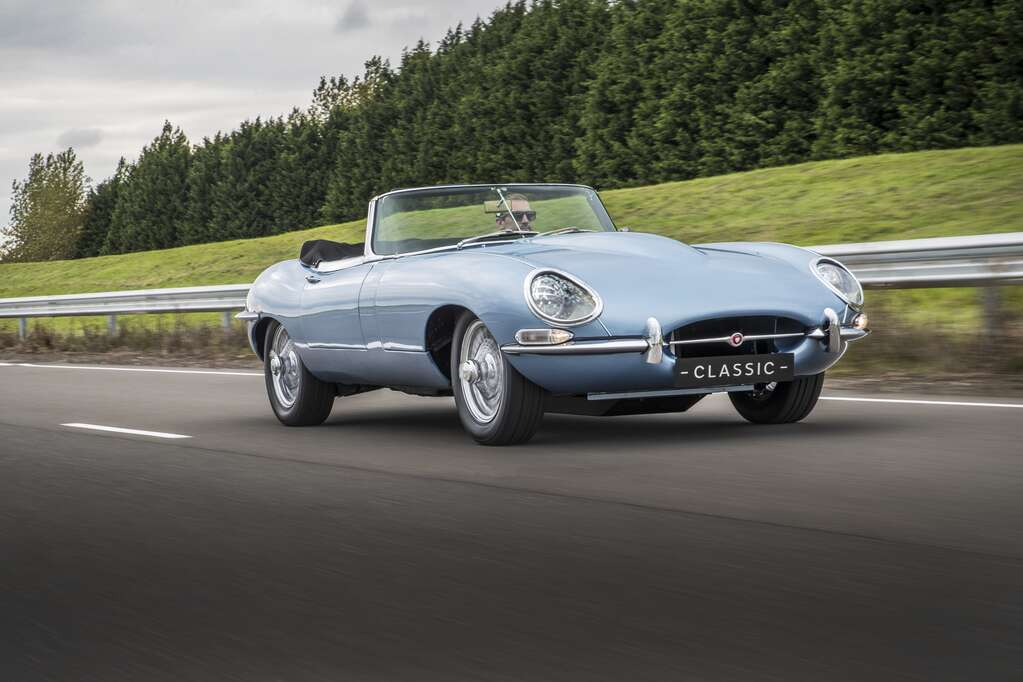 Jaguar EType Zero Is An AllElectric Version Of The Brands Most - Iconic sports cars