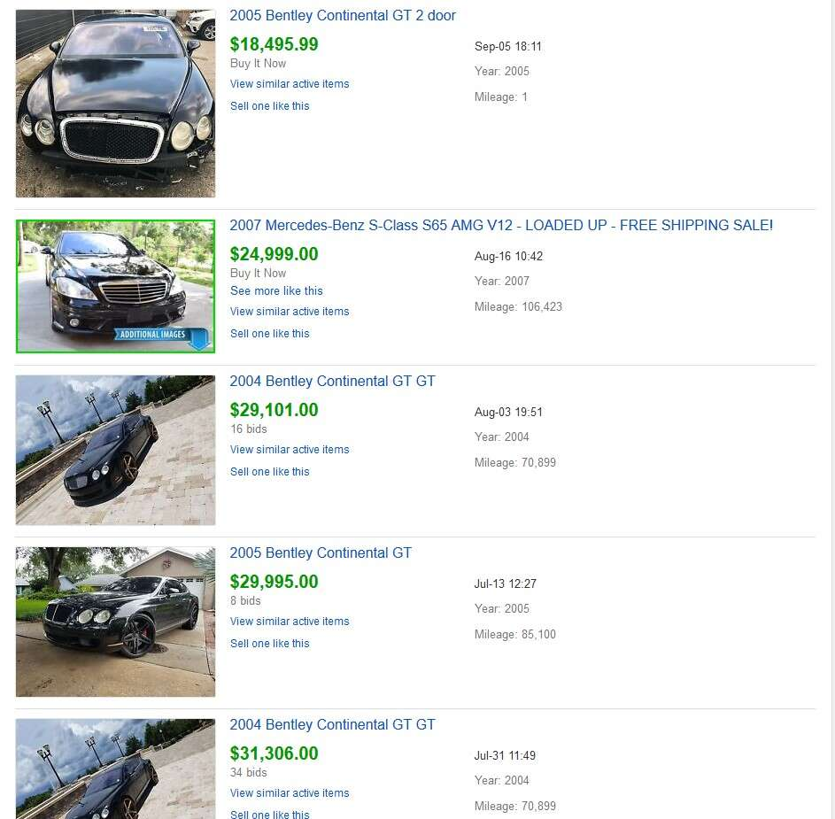 That OffRoadReady Bentley Continental GT Ending Up Selling for