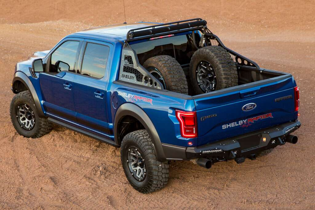 Ford F 150 Raptor Gets Shelby Treatment With The Shelby Baja Raptor