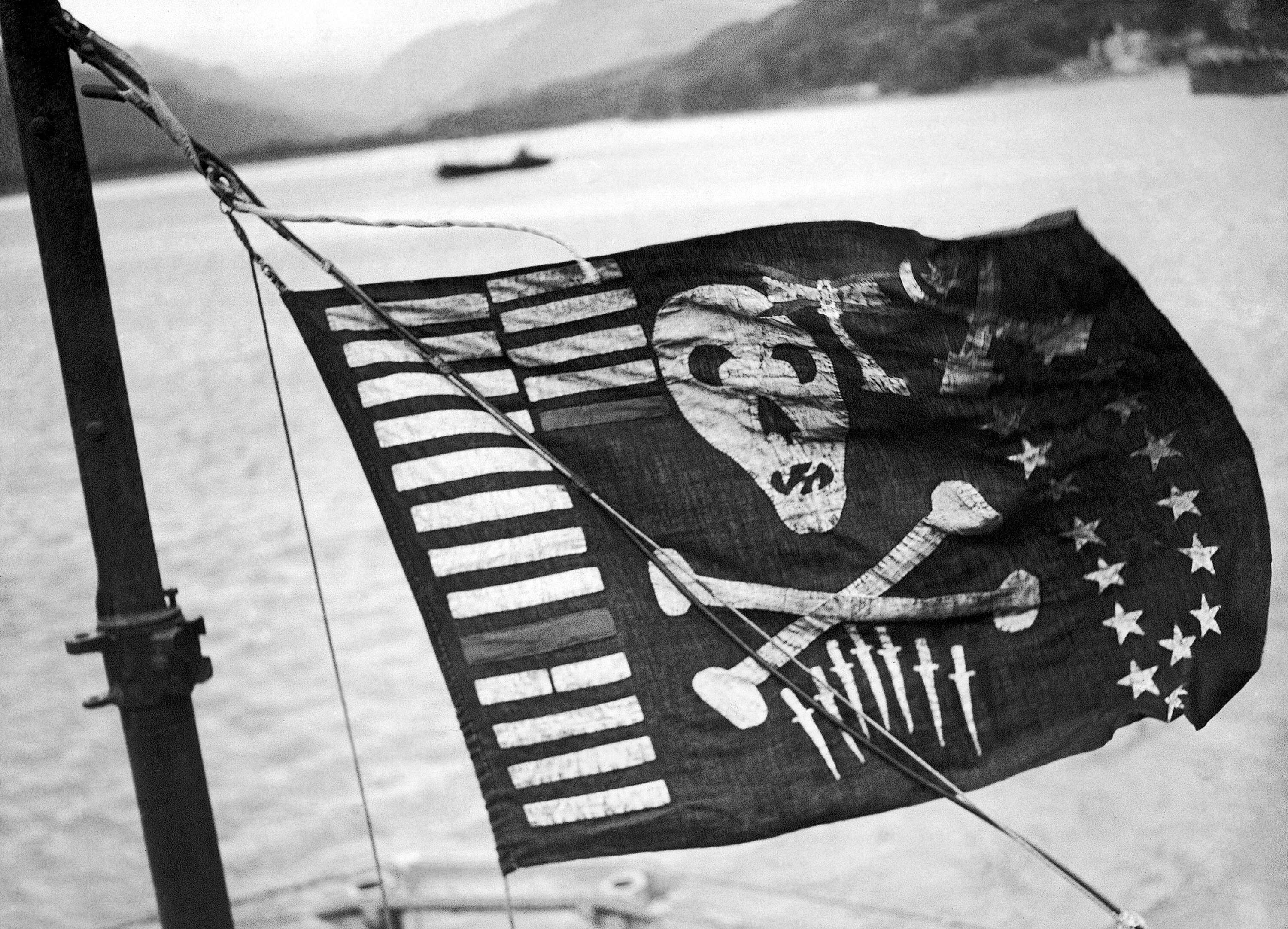 Why The Navys Top Spy Submarine Flew A Pirate Flag While Pulling