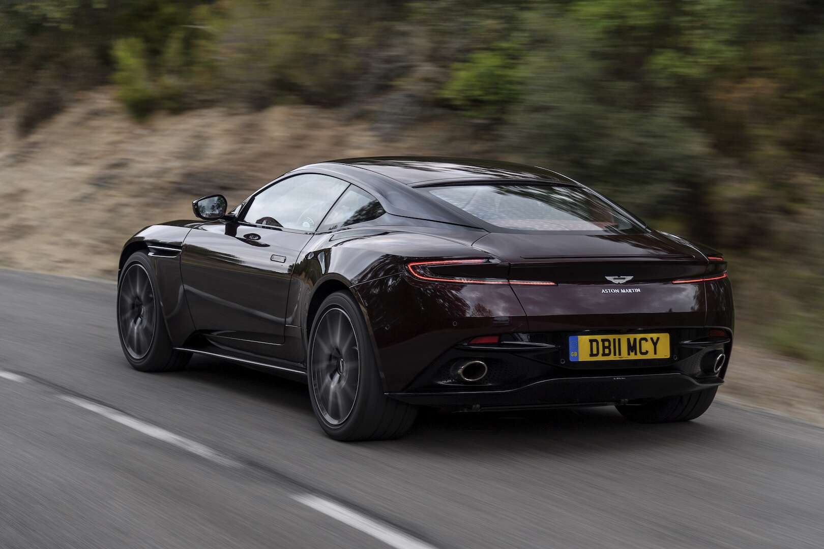 2018 Aston Martin DB11 V-8 Review: German Power, British
