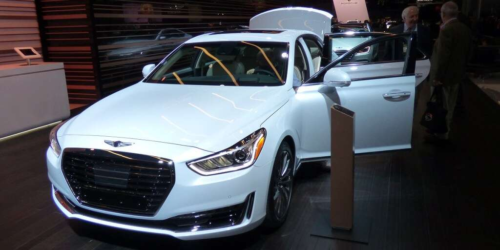 Luxury Cars Are Needlessly Complicated Genesis Boss Says