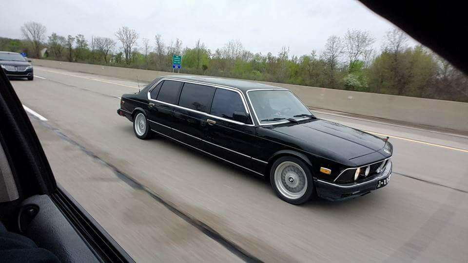 Arrive In Style This 1985 BMW 745i Limo