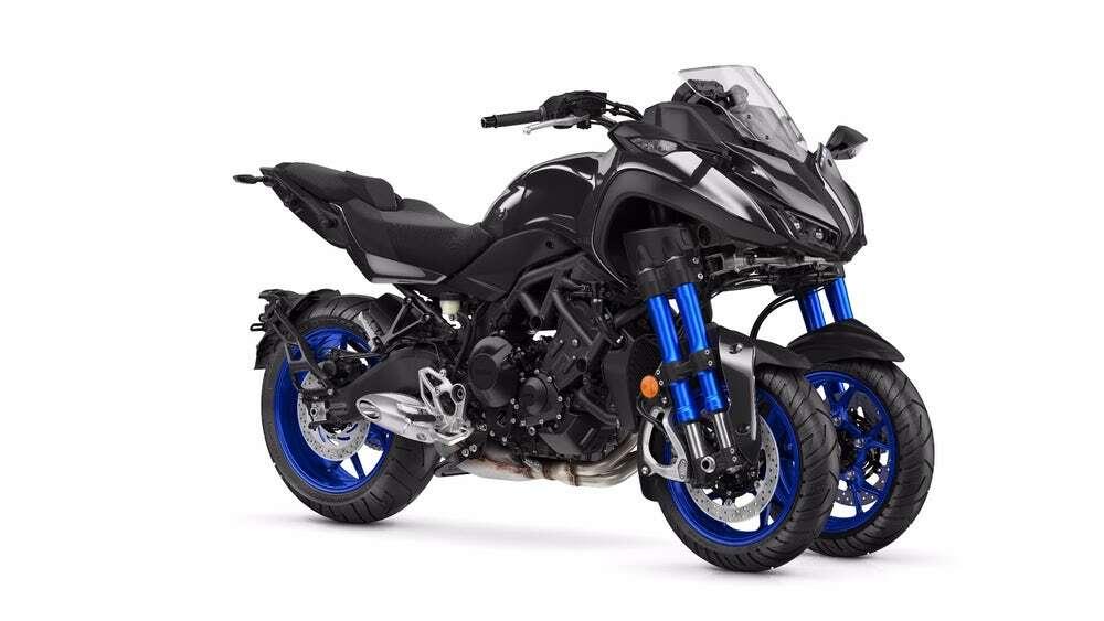 The Yamaha Niken Is a Three-Wheeled Sport Bike - The Drive