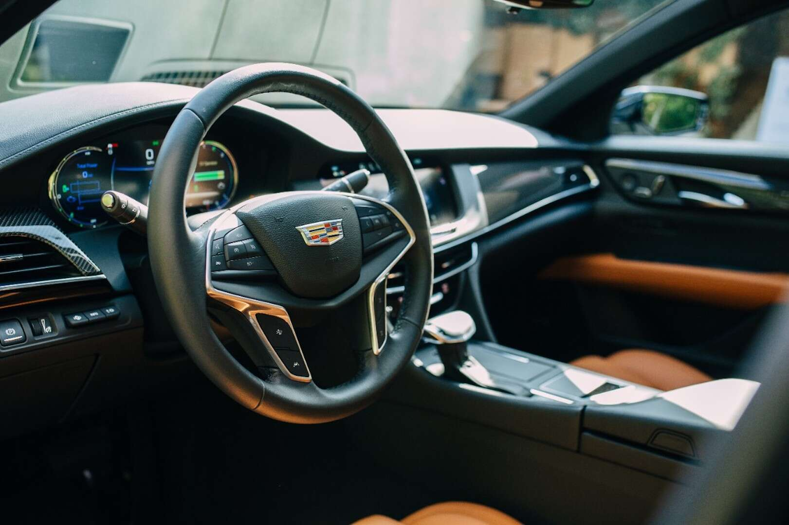 review reviews driving escalade suv road test cadillac hybrid