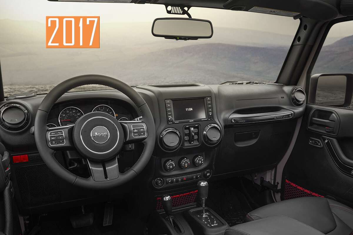 Heres What the AllNew Interior Looks Like in the 2018 Jeep
