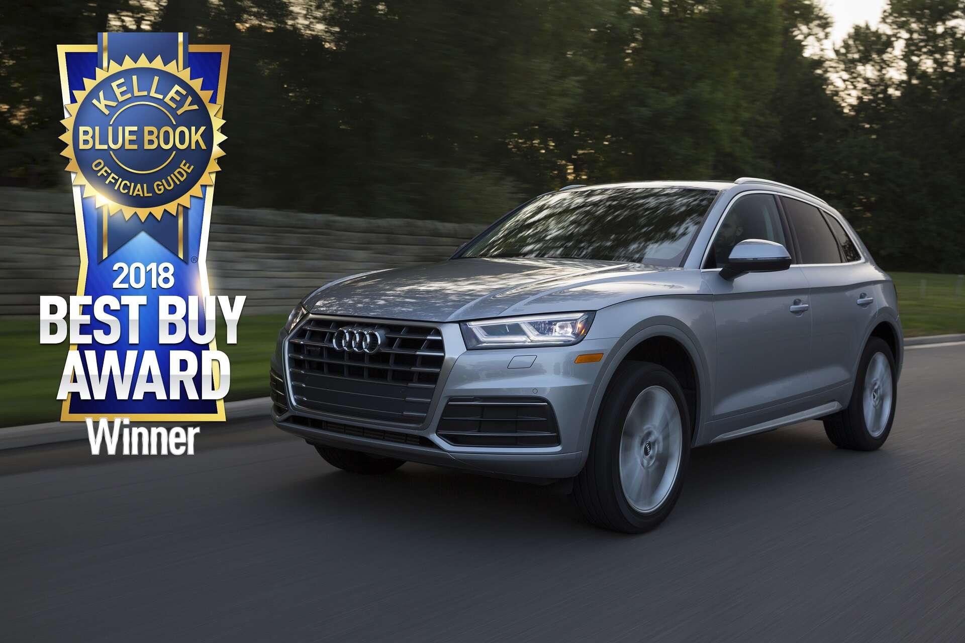 Kelley Blue Book Names Audi A5, Q5 Among Best Buy Award Winners ...