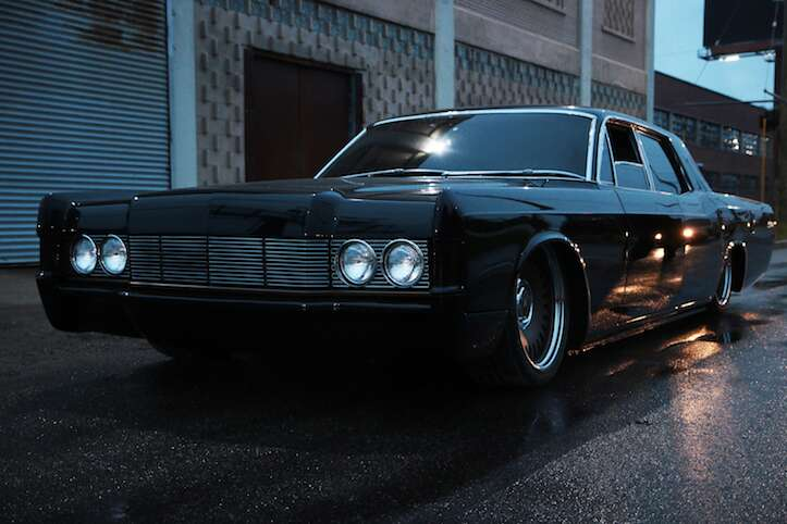 Roush And Mobsteel Make A Gangster S Dream 1968 Lincoln Continental