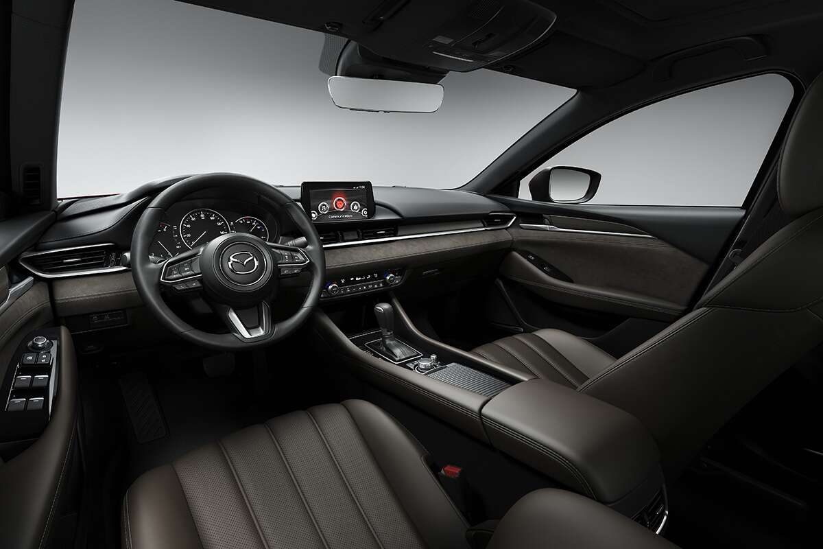 The 2018 Mazda6 Goes Upmarket With A New Luxury Interior And A Turbo