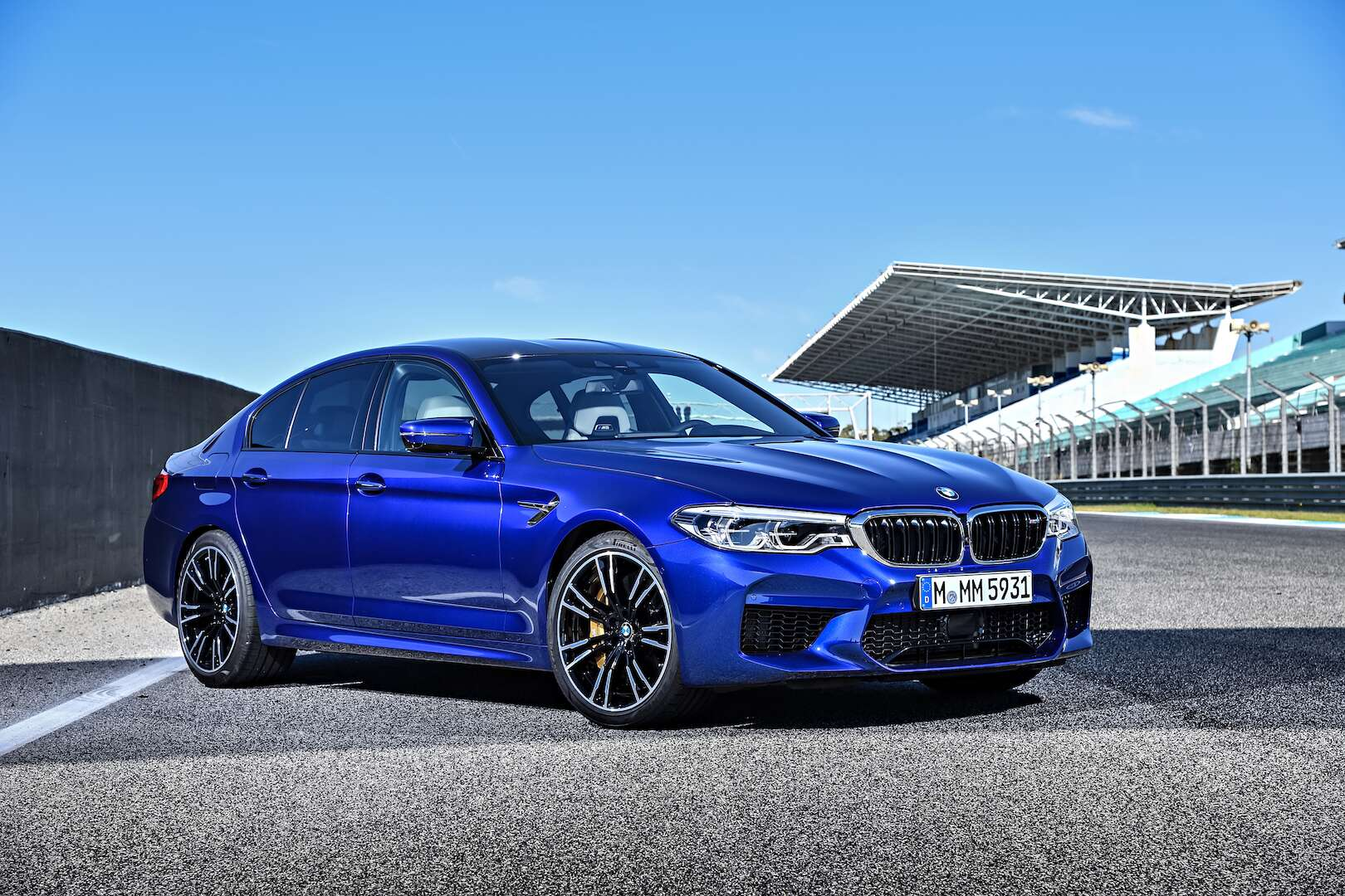 2018 bmw m5 test drive review in portugal welcome to the 600 hp club the drive. Black Bedroom Furniture Sets. Home Design Ideas