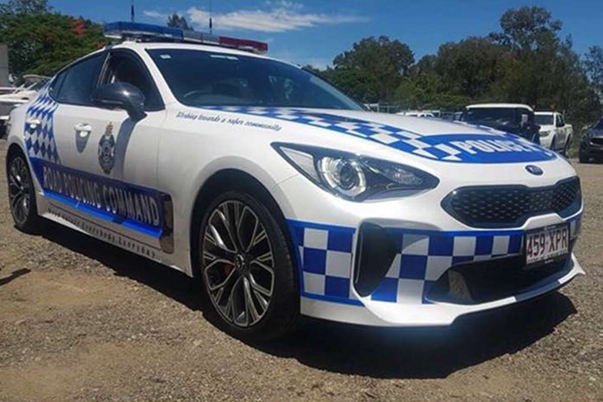 Police In Australia Get A Kia Stinger The Pursuit Fleet Drive Department Wiring Diagram Facebook Downshift