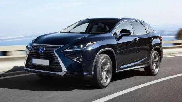 Best Hybrid Suv Lexus Rx 450h 53 035