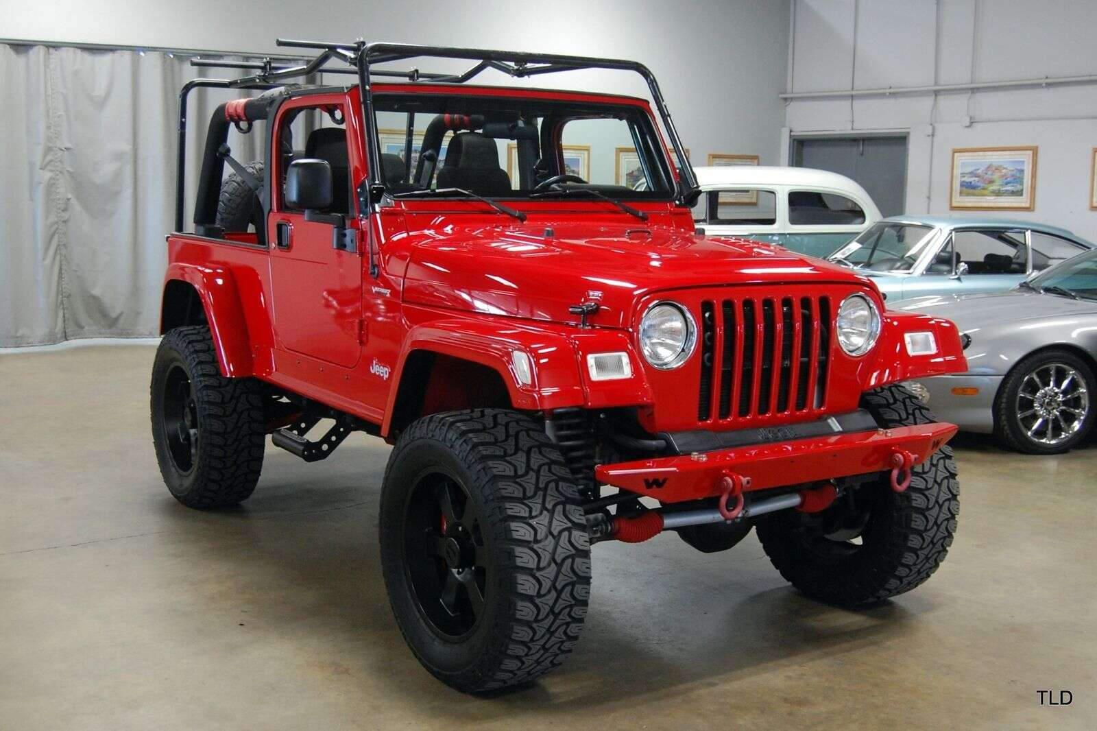 This Jeep Wrangler Has Viper Srt 10 Power The Drive 2005 Suspension Last Detail Ebay