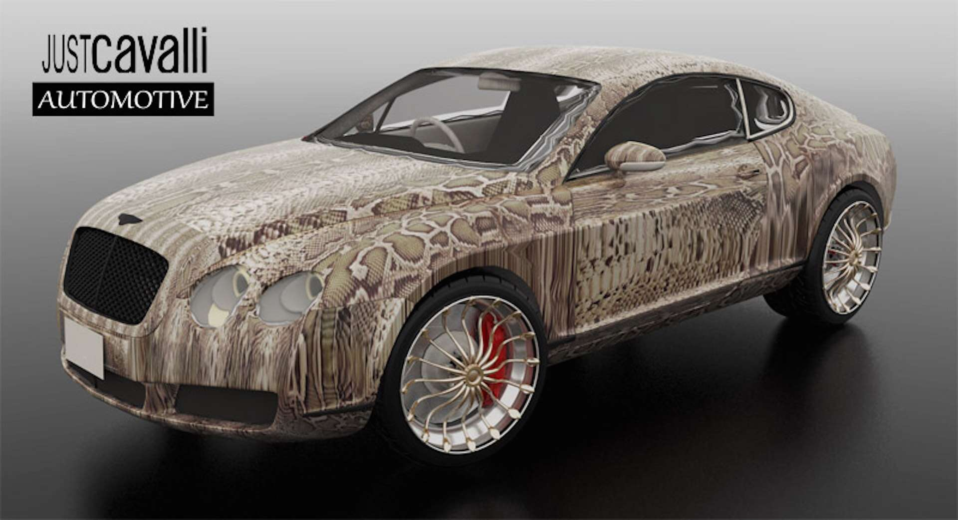 These Animal Printed Cavalli Luxury Cars Are Something Else The Drive