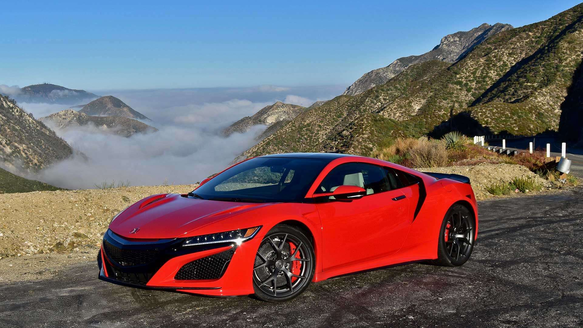 The Acura Nsx On The Angeles Crest Highway Fulfilling A Dream Put