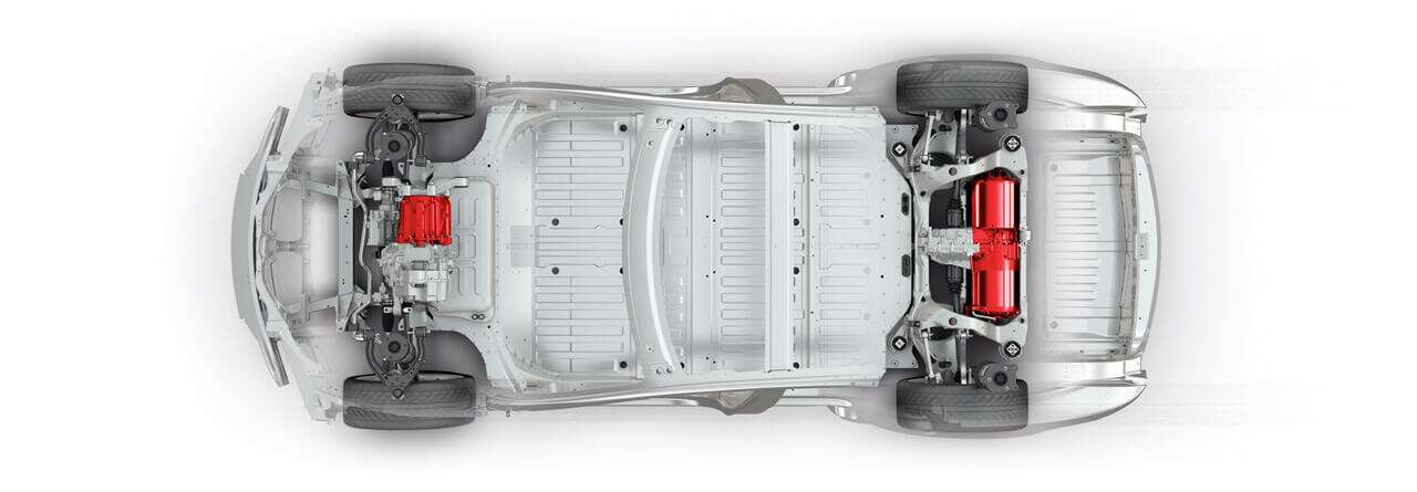 Tesla. The electric motor ...