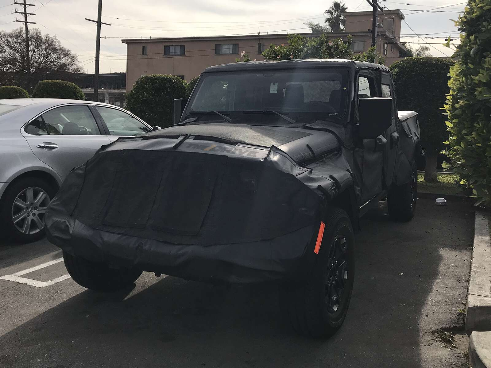 Exclusive Shots Suggest The 2019 Jeep Wrangler Pickup Truck Will Pick Up Kyle Cheromcha