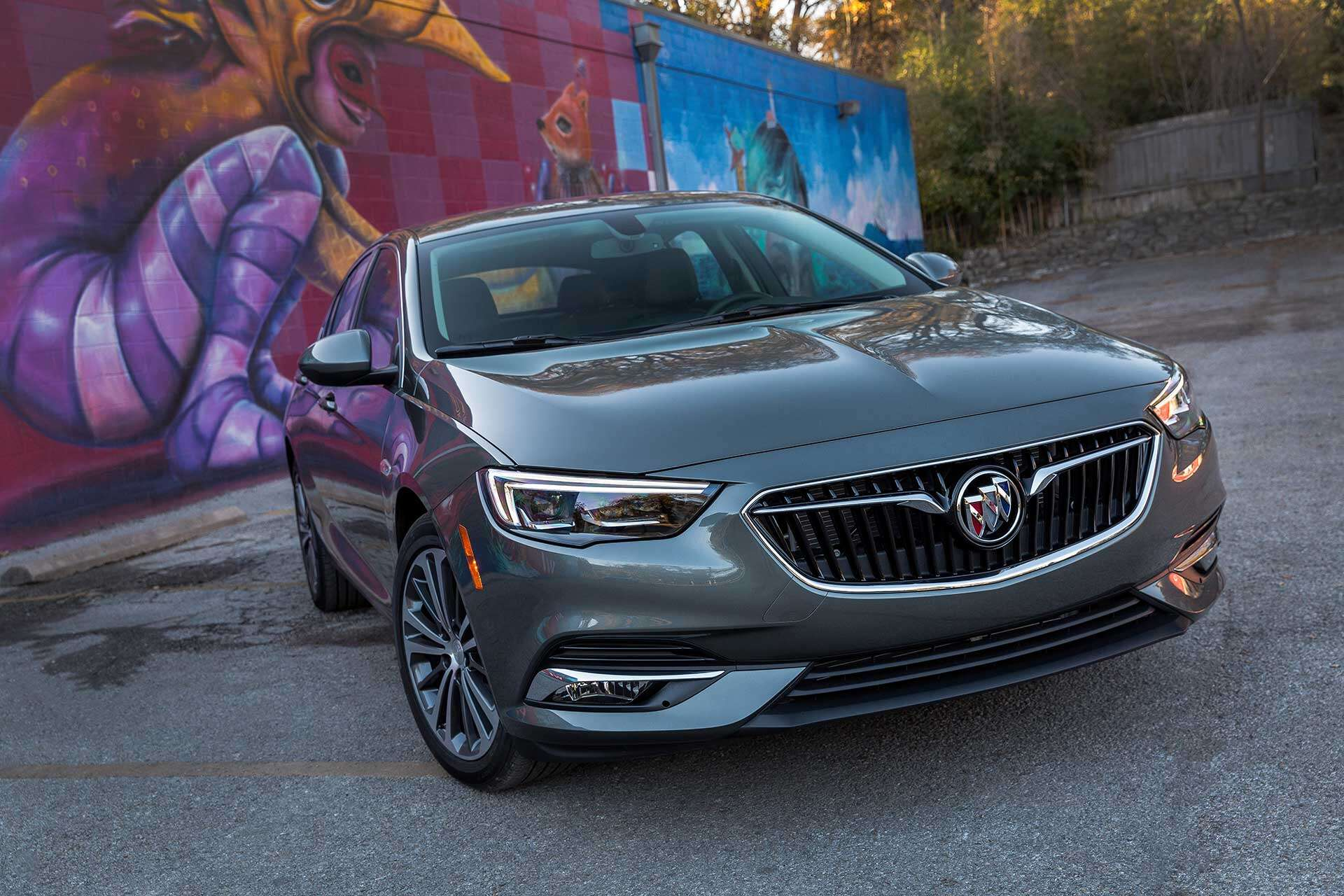 2018 Buick Regal Review A Fine Car If Not Quite Fit For A King