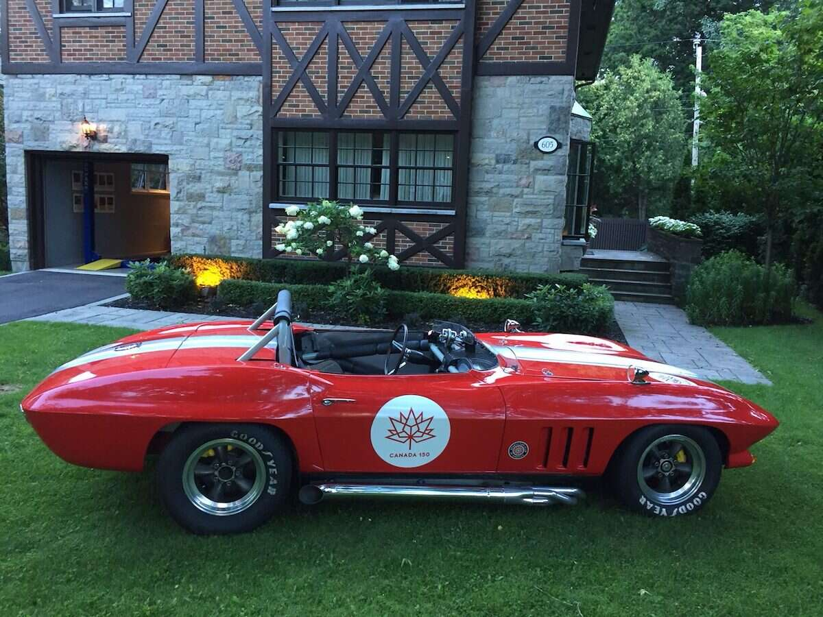 Check Out This Vintage Corvette Race Car for Sale - The Drive