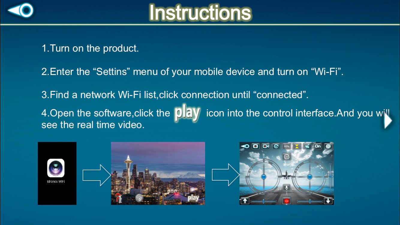 Tracker Drone Instructions