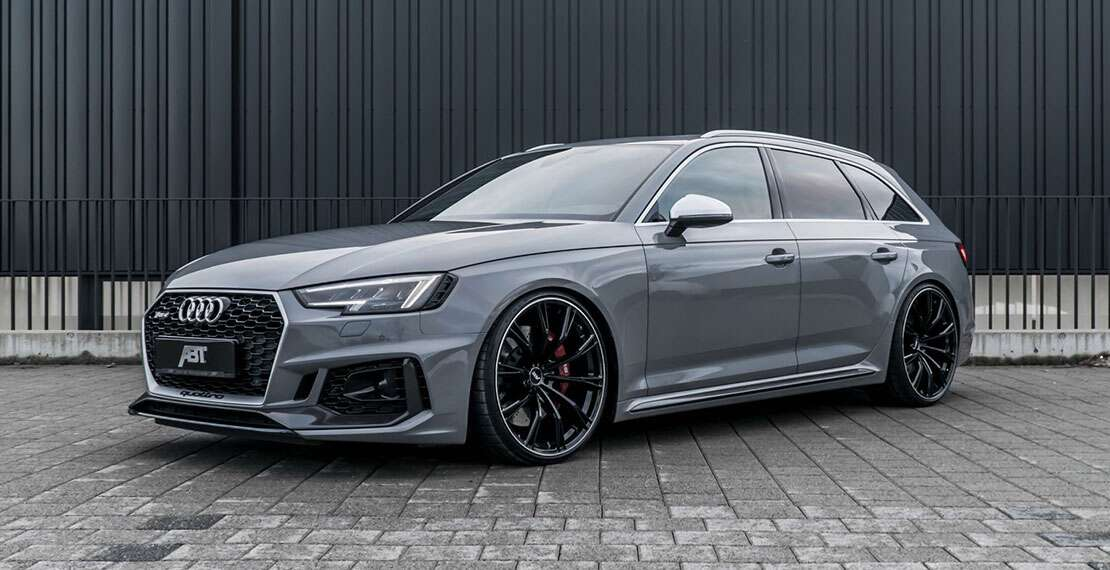 ABT Made a 510-HP Audi RS4 Avant - The Drive