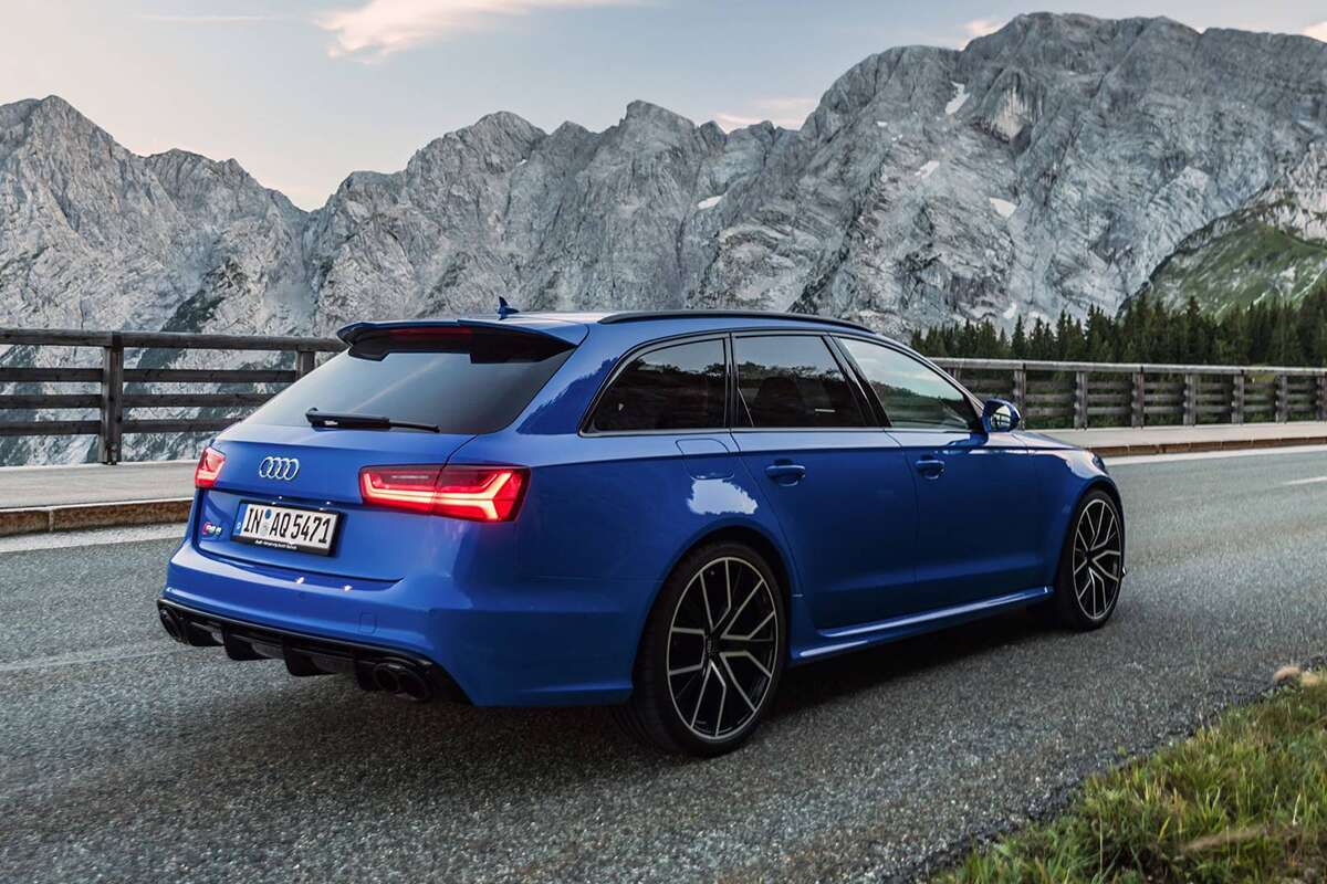 0184fe7207632a The 705-Horsepower Audi RS6 Avant Performance Nogaro Edition Is One ...