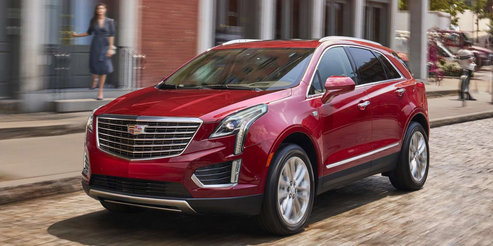 2018 Cadillac Xt5 Test Drive Review Making A Friendlier Crossover