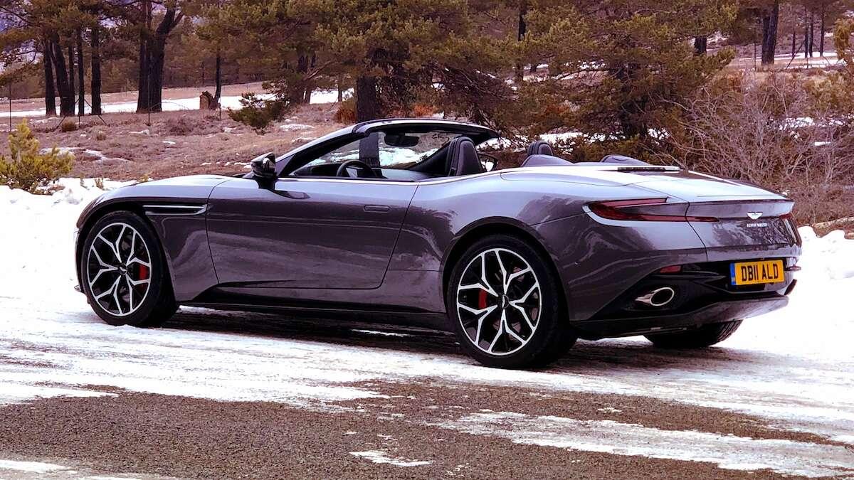 2019 Aston Martin Db11 Volante Review The Zero Compromise