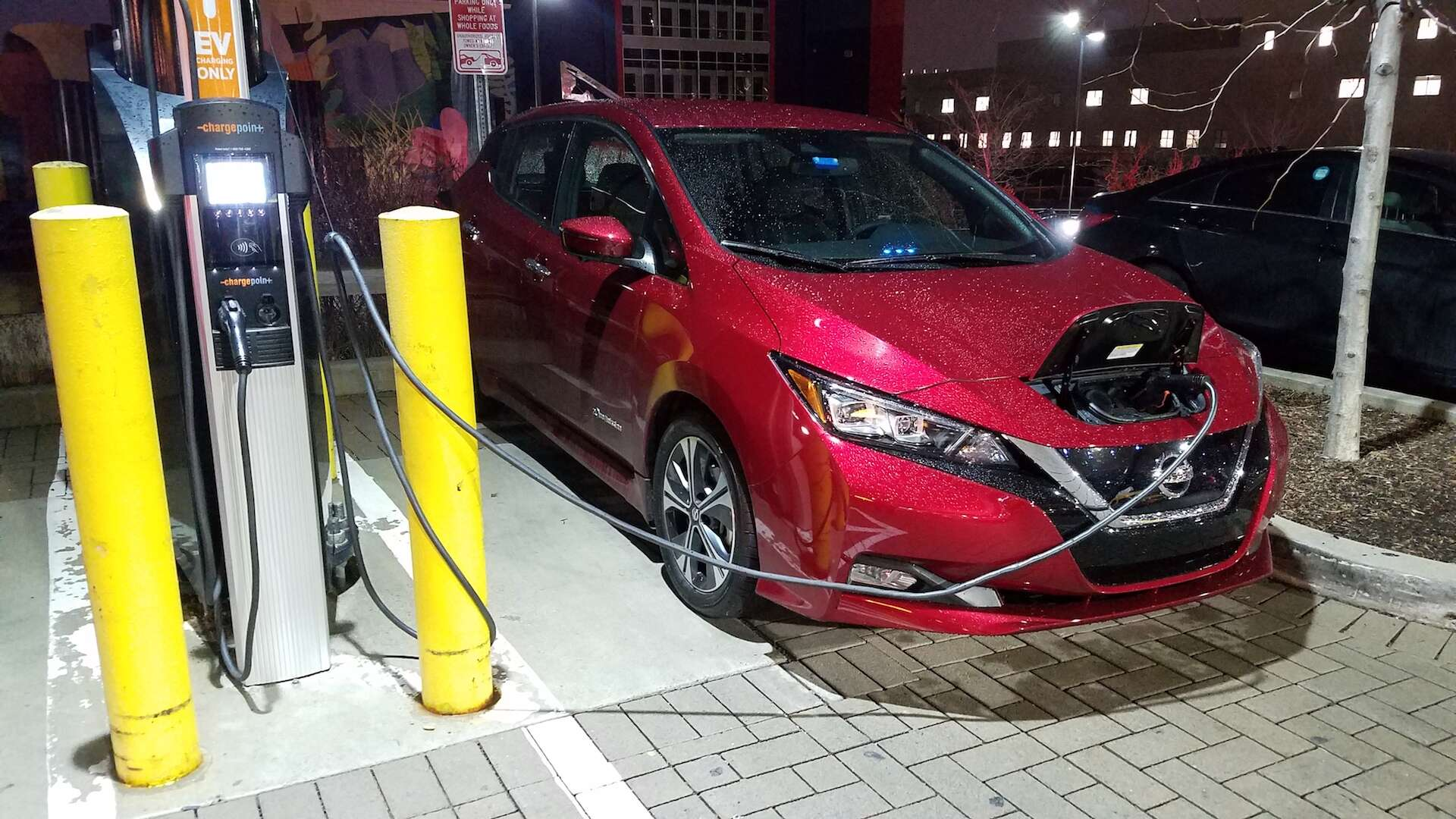 Nissan Leaf Review An OtherwiseExemplary Electric Car Falls - Car show board template