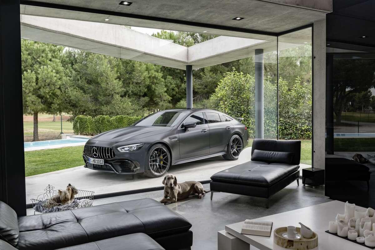 The MercedesAMG GT Door Coupe Is Finally Here The Drive - Audi 4 door sports car