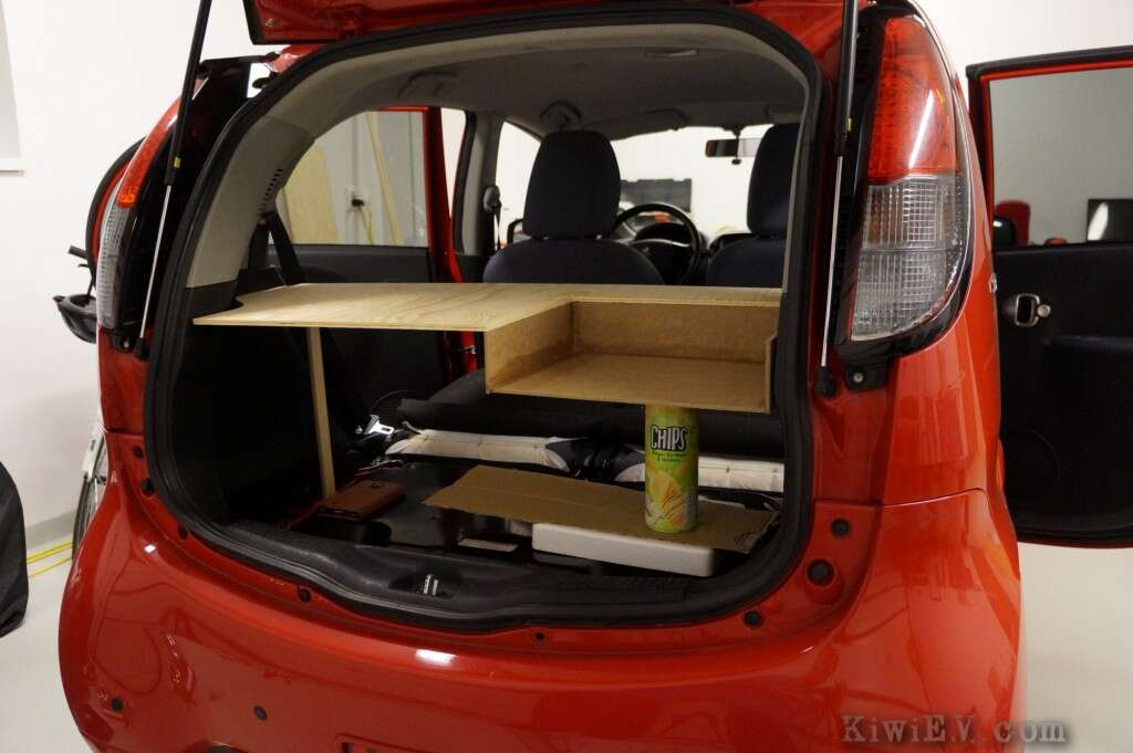 Man Installs Functional Kitchen In Electric Car The Drive
