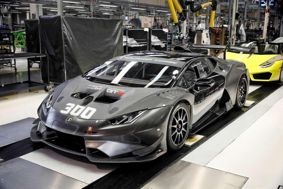 Lamborghini Builds 300 Huracan Race Cars in Three Years - The Drive