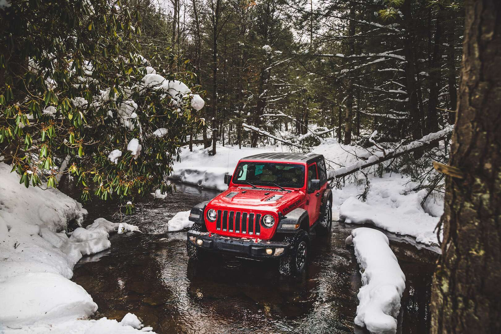 2018 Jeep Wrangler Rubicon Review: Taking a Winter Dip in ...