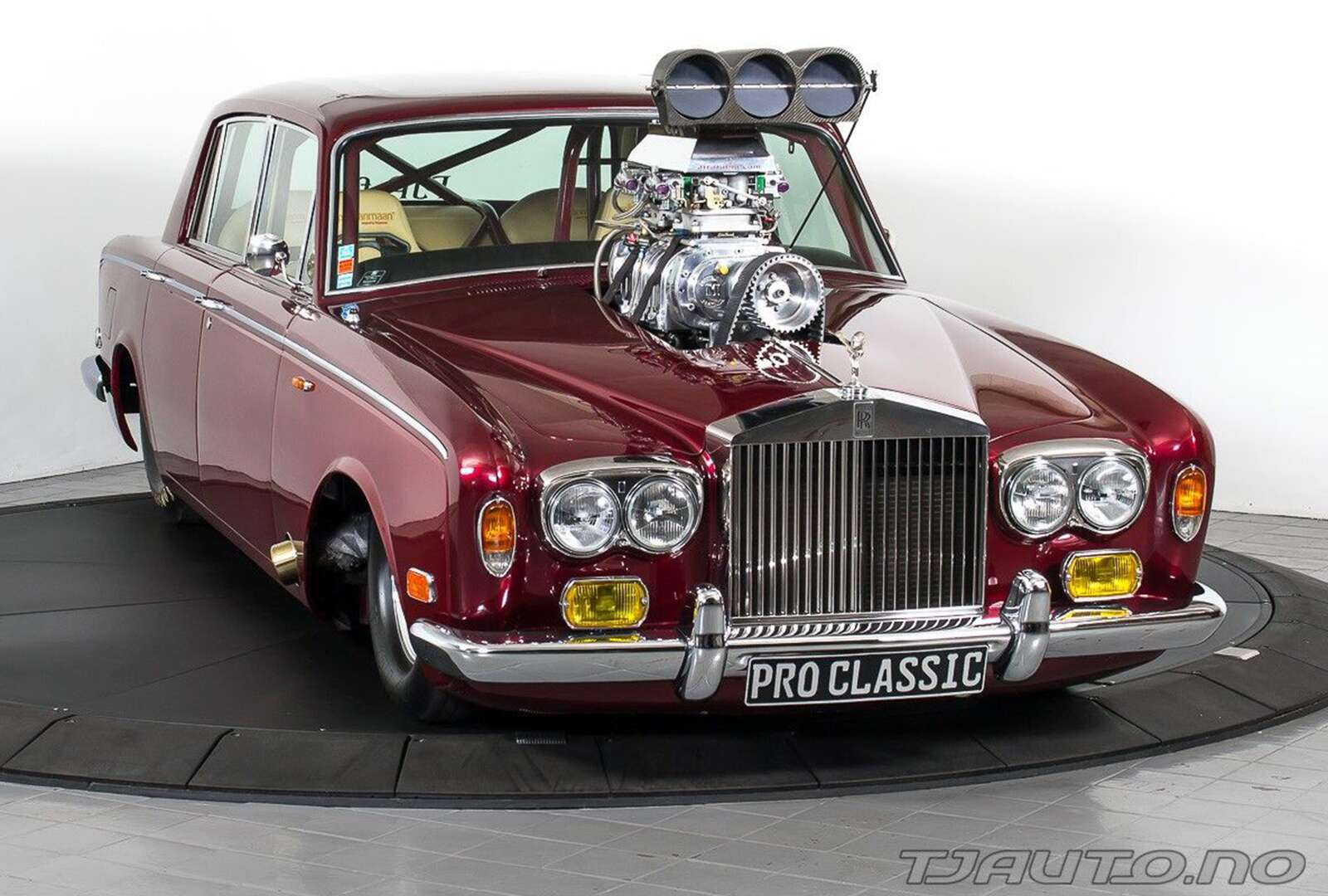 This Supercharged Rolls-Royce Silver Shadow Hot Rod Is a Modern ...