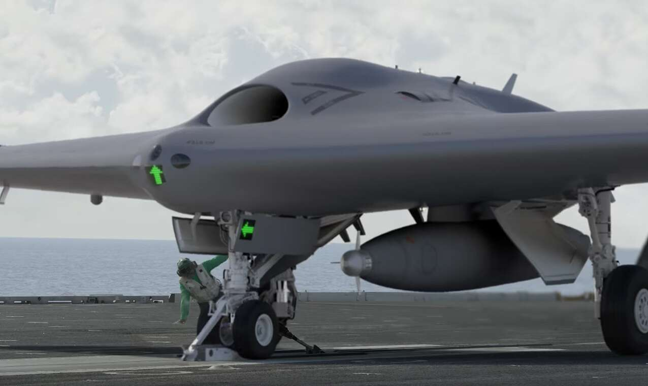 Lockheed Is Already Pushing A Stealthy Version Of Its Mq 25 Stingray