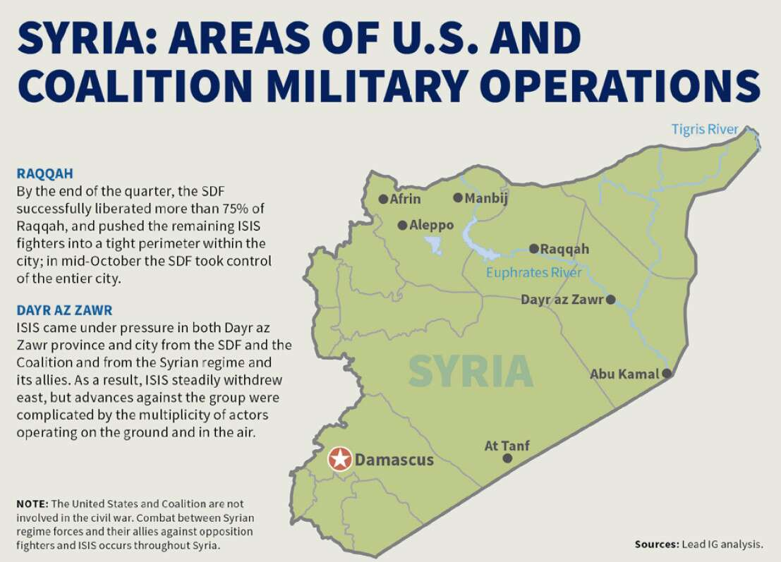 dod a map of syria