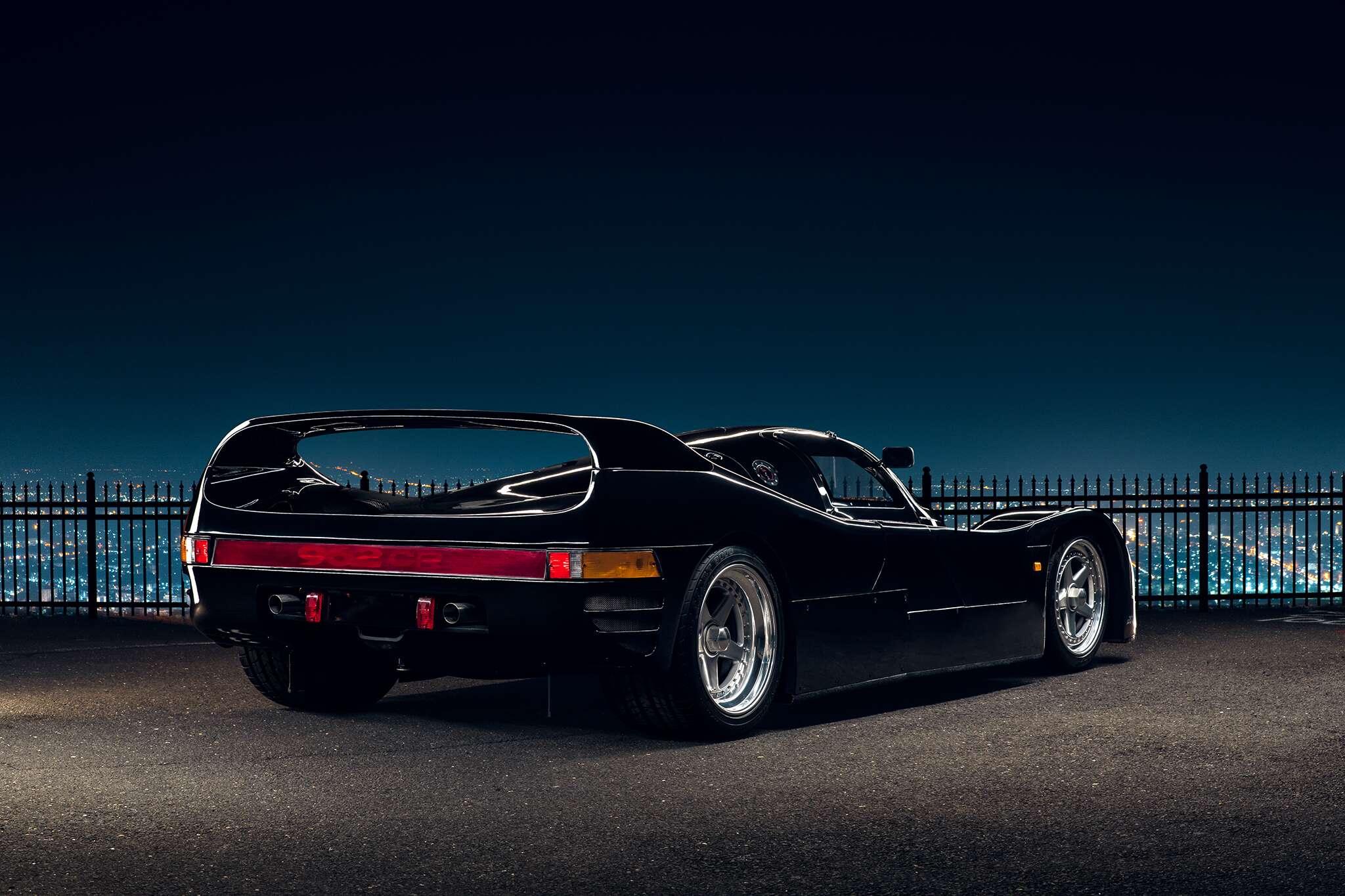 This 1-of-6, Zero-Mile, Street-Legal Schuppan Porsche 962CR Is ...