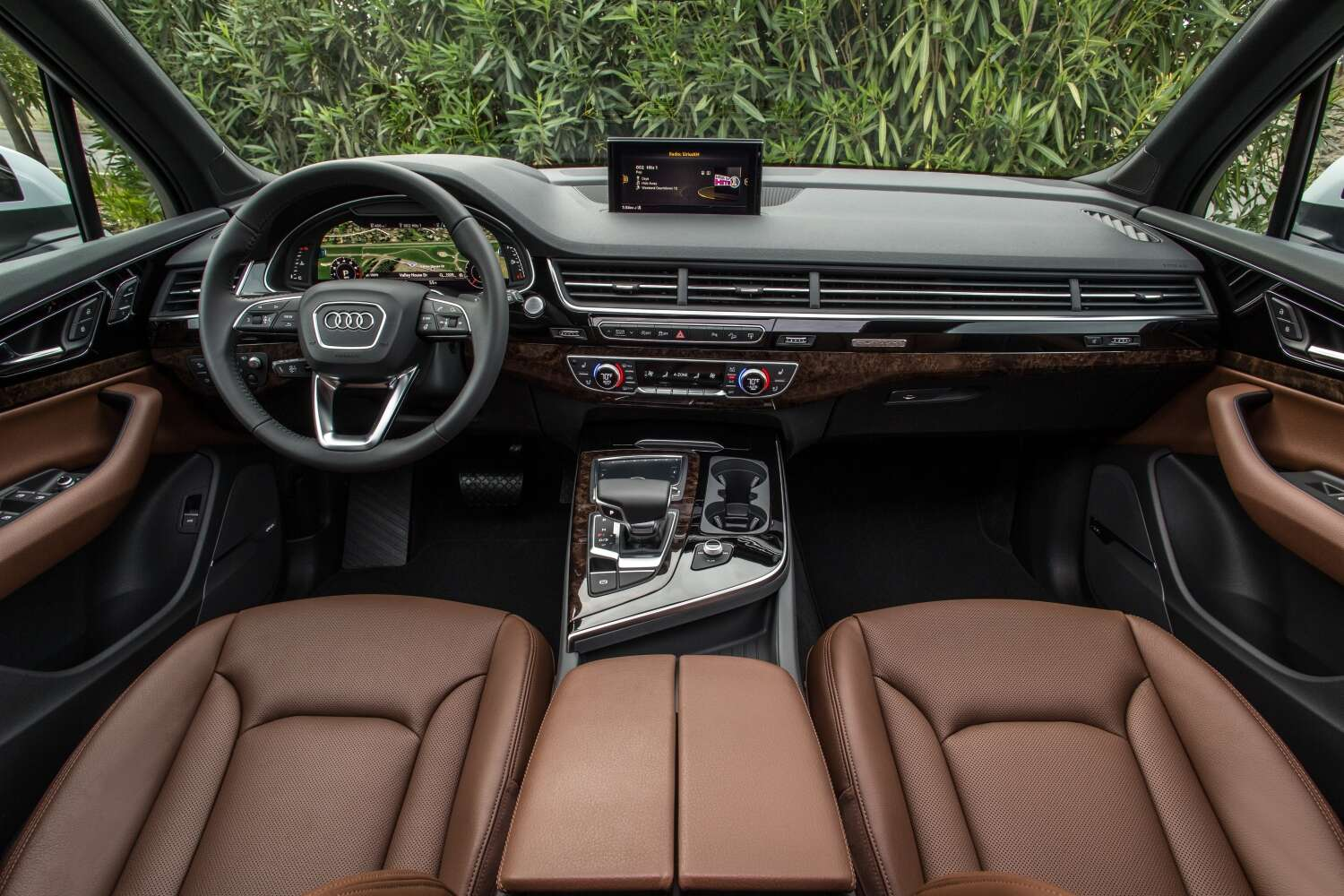 2018 audi q7 3 0 tfsi review a solid luxury crossover with an extra fine interior the drive. Black Bedroom Furniture Sets. Home Design Ideas