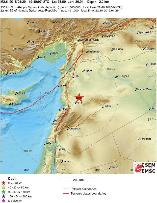 New Syria Strikes Cause Earthquake As Israel Drops \'Intelligence ...
