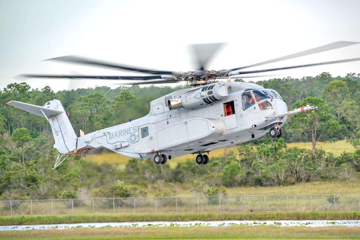 Морпехи США получили новый «монструозный» вертолет