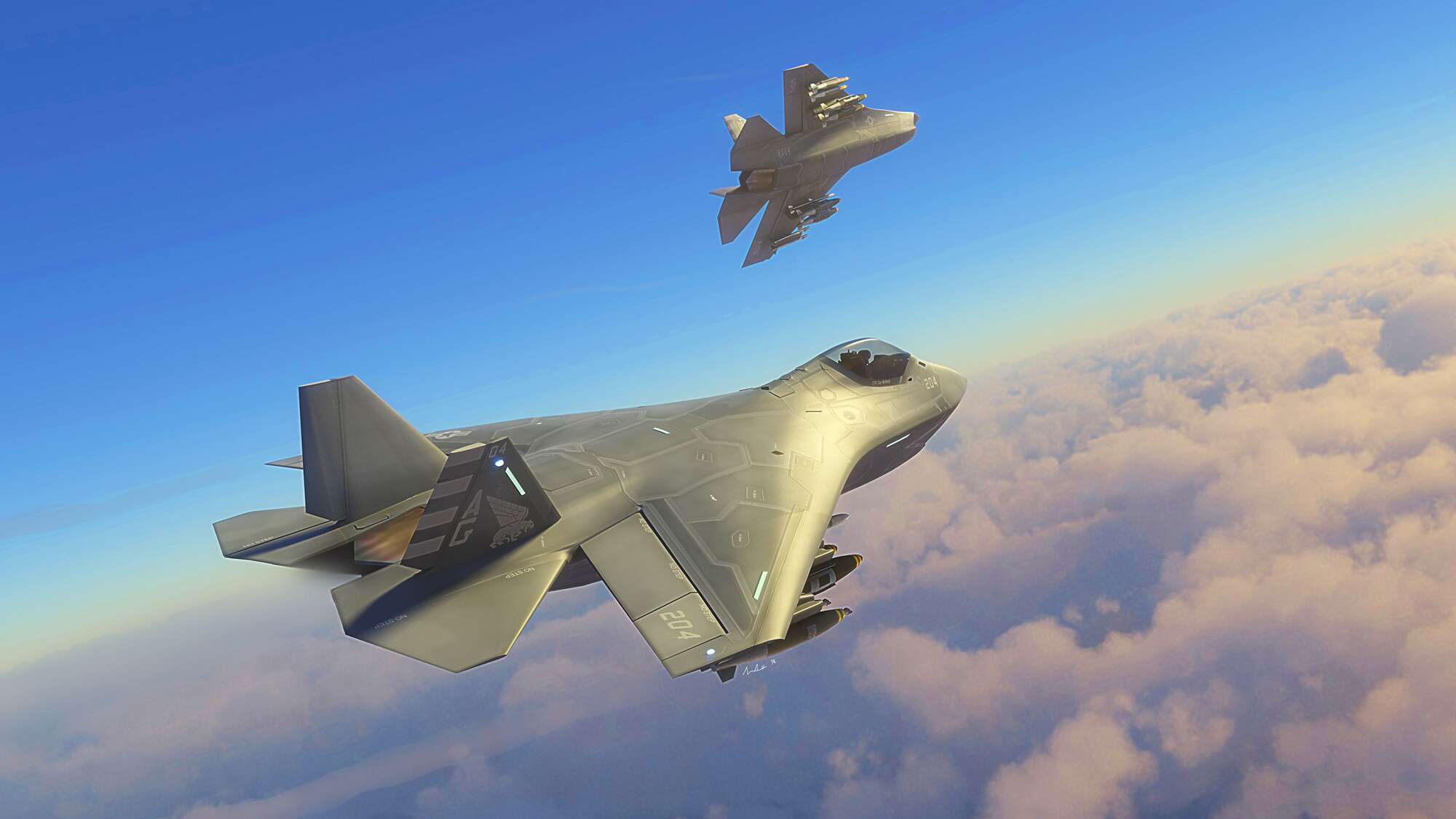 This Is What A Boeing F-32 Would\'ve Looked Like If Lockheed Lost The ...