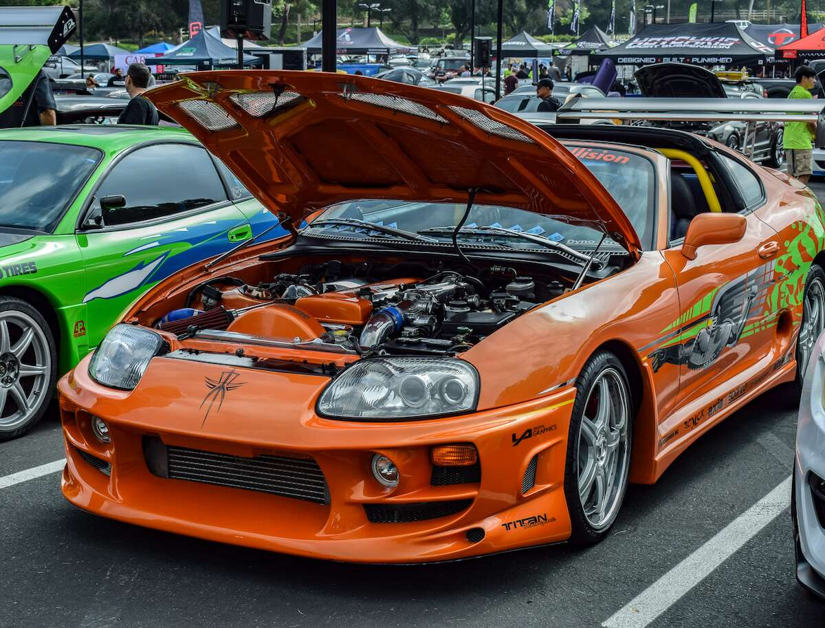 Paul Walkers Brothers Host Charity Car Show In LA Featuring Fast - Fast and furious car show