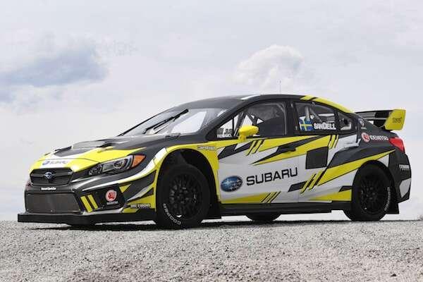 Subaru Enters 600hp Wrx Sti In Americas Rallycross Championship