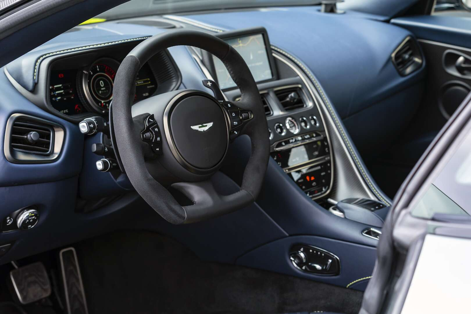 2019 Aston Martin Db11 Amr First Drive Review Aston Keeps Fussing