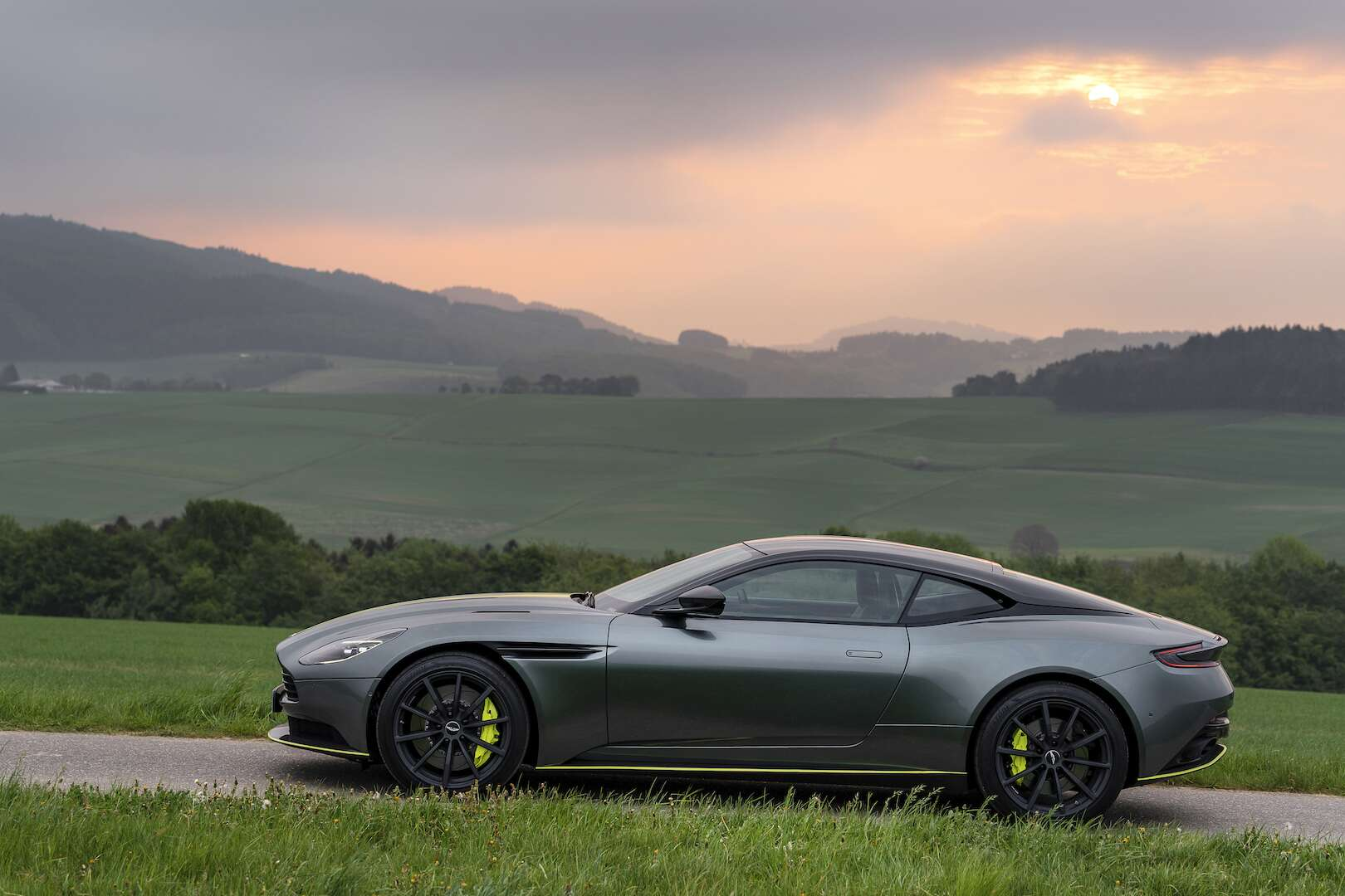 2019 aston martin db11 amr first drive review: aston keeps fussing