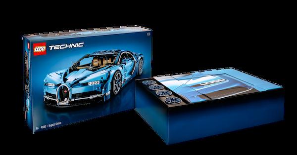 lego launches 3,599 piece 1:8 bugatti chiron set - the drive
