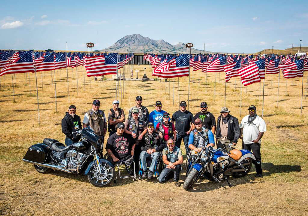 Indian Motorcycle Sponsors Veterans Charity Ride to Sturgis